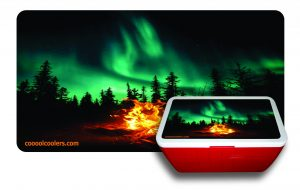 Northern Lights - Red Cooler