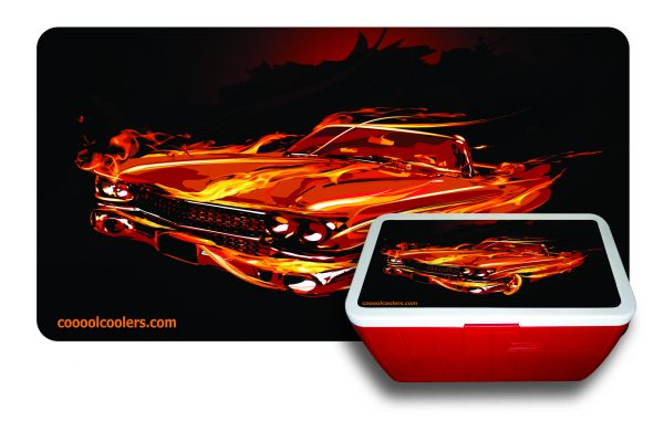 Flaming Caddy - Cooool Coolers