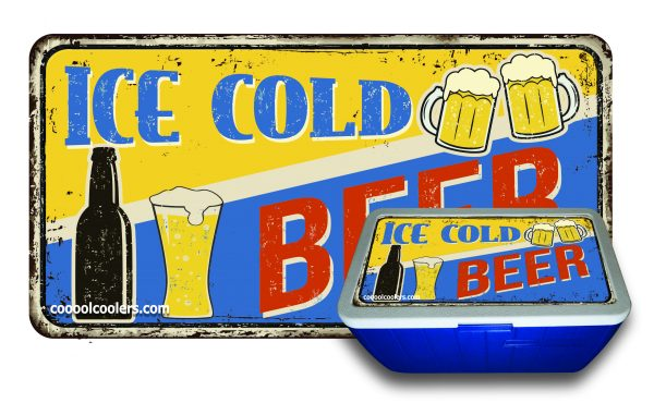 Ice Cold Beer - Cooool Coolers